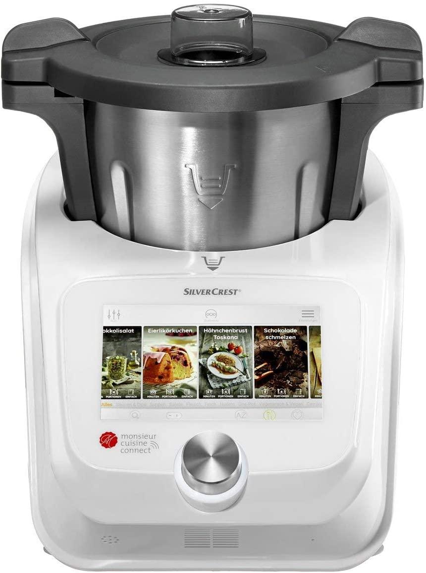robot cuiseur Monsieur Cuisine Connect de SilverCrest